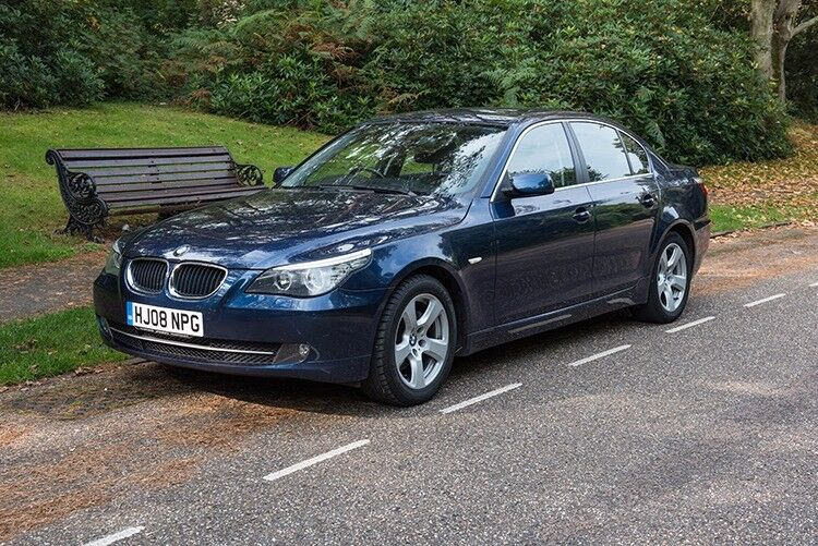 BMW 5 Series 2.0 520d SE 4dr - FSH, LEATHER, PRO Sat Nav