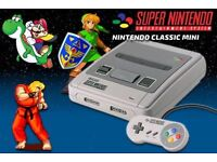 Brand new Nintendo Classic Mini: Super Nintendo Entertainment System.