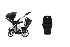 oyster max2 double pushchair