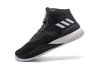 6ff44c1eac8b Adidas D Rose 8 Black White Boost NBA Basketball Shoes Derrick CQ1619 Men s  14