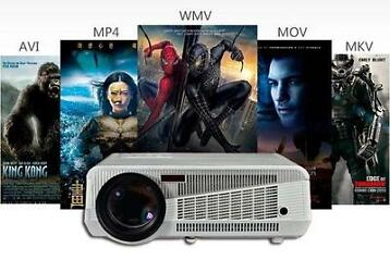 3D LED BEAMER 4500LUMEN WIFI ANDROID 4.2 FULL HD projector