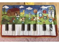 Carousel musical play mat