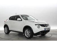 2013 (63 Reg) Nissan Juke 1.6 Acenta Premium 4x2 Arctic White 5 STANDARD PETROL