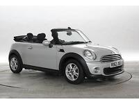 2012 (62 Reg) Mini Convertible 1.6 One Silver CONVERTIBLE PETROL MANUAL