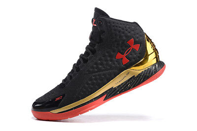 Hot Men's Under Armour Curry 1 TRAINING Basketball Shoes Boots