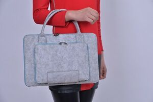 BRAND NEW High Quality Wool Notebook Laptop Case Cambridge Kitchener Area image 2