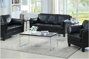Brand new leather 3 pcs sofa,loveseat, chair $1098+FREE DELIVERY