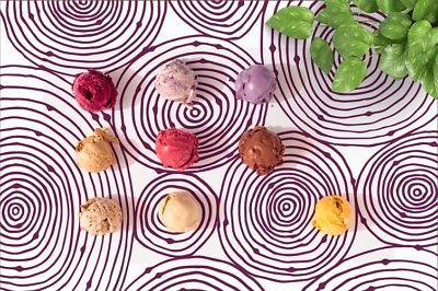 **NEW**Petunia Paper Placemats-50 Count multiple design block.Disposable