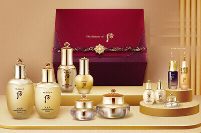 The History of Whoo Cheongidan Radiant Rejuvenating Queen Skincare Set K-Beauty