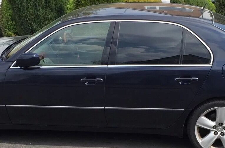Lexus Ls430 Facelift Window Door Glass Drivers Passenger Rear Left Right Front