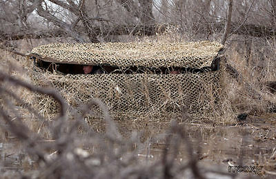 BANDED AXE BOAT SHORE DUCK BLIND CAMO SKIN COVER CAMOUFLAGE CATTAIL REGULAR NEW!