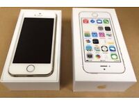 iPhone 5S Gold Unlocked Excellent Condition