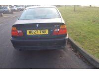 Automatic BMW 318 Car Year 2000
