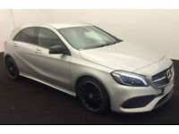 SILVER BLACK ALLOYS MERCEDES A220 AUTO KNIGHT PACK FROM £88 PER WEEK!