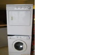 FRIGIDAIRE HD STACKING FRONT LOAD WASHER & DRYER