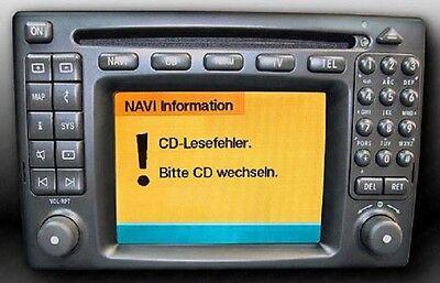Reparatur Mercedes Comand 2.0 Navi aus ML W163
