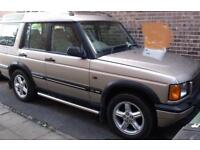 Land Rover Discovery 2.5Td5 2000 Td5 ES auto (7 seater) estate 4x4