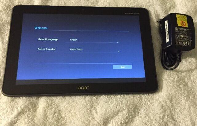 Acer Iconia Tab A200._ 10 Inch Tablet (16GB) Grey