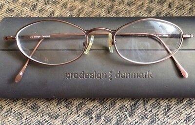 PRODESIGN Denmark Eyeglasses Frame Best Collection P.306 48[]18 mm Japan w/Case!