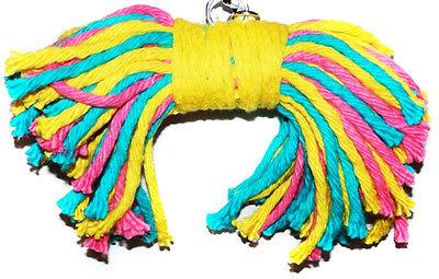 50067 Big Birdie Bow Tie Bird Toy parrot cage toys cages preening amazon macaw