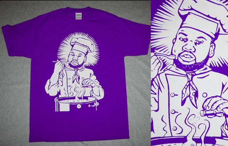 New Purple Tape Raekwon the Chef tshirt rap vintage concert wu tang Cajmear sz M