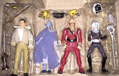 Toy Vault FarScape Action Figure Set 4 Sci Fi Crichton Zhann D'argo Chianna