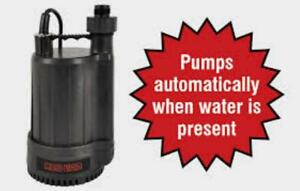 NEW,,1/4 Horse Power Automatic Submersible Utility Pump