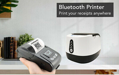 58mm Thermal Receipt Printer Pos Printer With Usbbluetooth Port For Android Ios