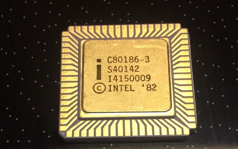 C80186-3 Intel CPU for Collecting or Gold Recovery