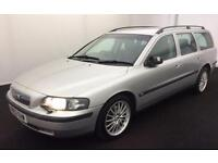2002 VOLVO V70 T5 SE ESTATE..LONG MOT..LEATHER..LOOKS +DRIVES GOOD