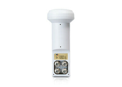 Used, AB 01 Universal QUAD LNB (made by Inverto factory) 0.1dB 3D HD NEW Warranty 3yrs for sale  Shipping to United States