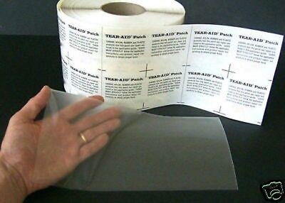 VINYL POOL LINER REPAIR PATCH 3x6 Tear Aid Type B*SHIP FREE* W// Alcohol Prep Pkg