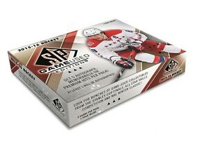 2015-16 Upper Deck SP Game Used Hockey Trading Cards Hobby Box