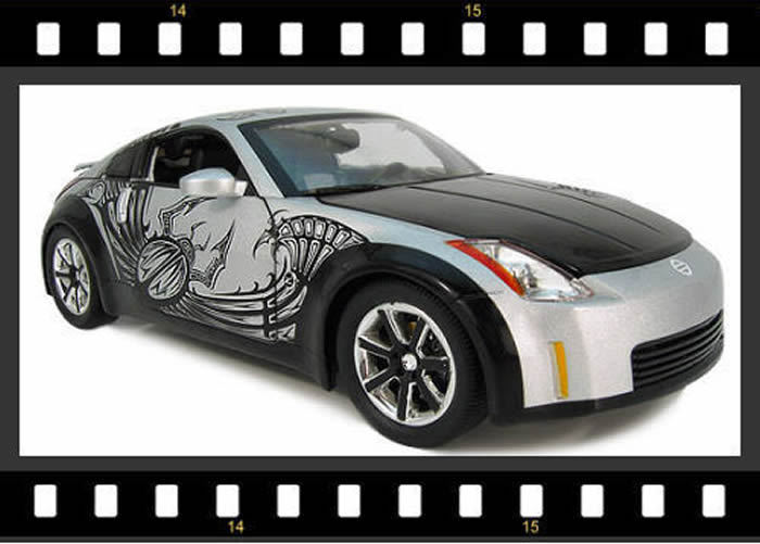 Detalles de Fast&Furious Tokyo Bote 2003 Nissan 350z 1:18 Fundido Modelismo  Coche