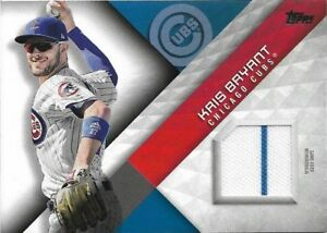 2018 Topps Major League Materials Kris Bryant Chicago Cubs