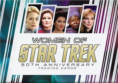 Women of Star Trek 2017 50th Anniversary Costume Set (15 Cards)