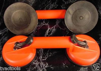 2 Heavy Duty Double Suction Cup Dent Puller Tool Brand Big Very Strong