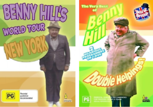 Benny Hill's World Tour, Double Helpings DVDs Concord West Canada Bay Area Preview