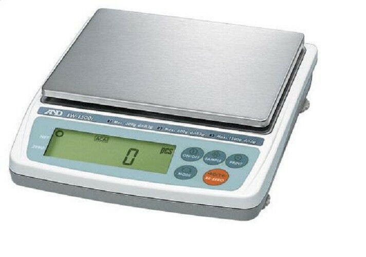 A&D EK-12Ki  Jewelry Scale, 12000 g x 1 g, Legal For trade, NEW