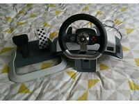 Official Microsoft Xbox 360 steering wheel