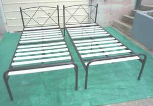 Identical Tubular Single Bed Frames Inala Brisbane South West Preview