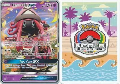 Tapu Lele GX - 60/145 - 2017 World Championship Card NM Promo Pokemon