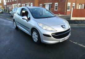2008 Peugeot 207 1.4 petrol – LOW MILEAGE