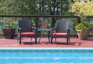 New Patioflare Whylie 3-piece Chat Set