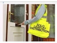 Leaflet Distributors- From only £30 per 1000 Leaflets.