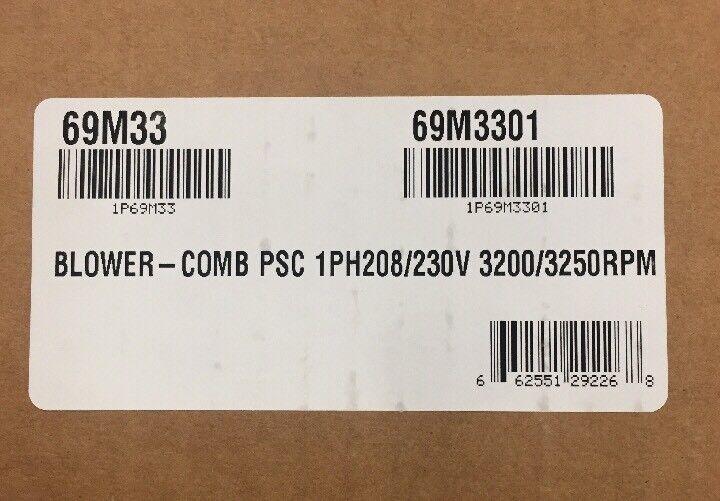 LENNOX/DUCANE/ARMSTRONG COMB. AIR BLOWER 208/230V 69M33/69M3301
