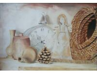 Original signed painting (by the Fine Arts artist). Large size.