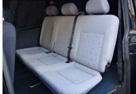 T4/5 triple folding seats