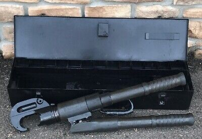 Burndy 750 Revolver Hypress Hydraulic Crimper Nice Unit Greenlee 6