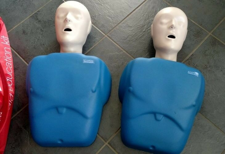 4b919b2feb5 CPR Prompt Manikin 1 X Adult/Child plus a another spare and free hold bag  etc.